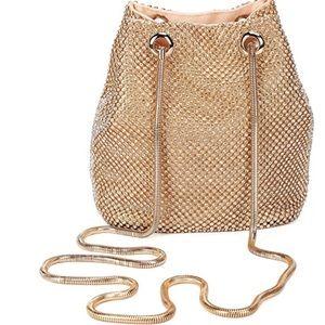 Crystal Golden &SilvervRhinestone Evening Bags